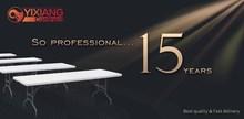 8 ft fold-in-half table