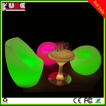 Wholesale PE material outdoor LED lounge furniture for bar nightclub