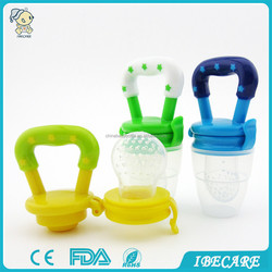 IBECARE baby products silicone baby fruit feeder