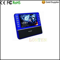 Shouyu R200 720P Movies Video 4G TF Card Speakers A 7-Inch Screen Mini Audio Cards Speaker