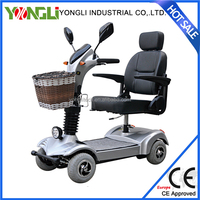 New reclining power mobility luxury power chair enclosed motor 200w electric scooter