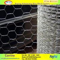 galvanized square chicken wire mesh, PVC coated hexagonal wire netting