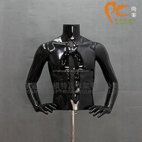 Black muscle mannequin upper body male mannequin