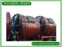 dry limed hide split tanning drum for leather factory