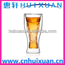 2014 Brazil World Cup shape beer glass cup / Double beer cup