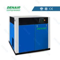 Silent dry oil free screw air compressor