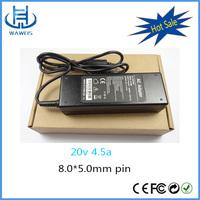 UL AC100-240v dc power supply 90W 20v 4.5a laptop adapter