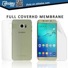 For s6 edge plus TPU material curved protective film with factory price