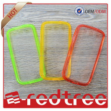 Candy color TPU soft+pc cell phone case for iphone 6 6 plus