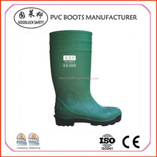 Water-Resistant Safety Boots Steel Toe, Safety PVC Boots