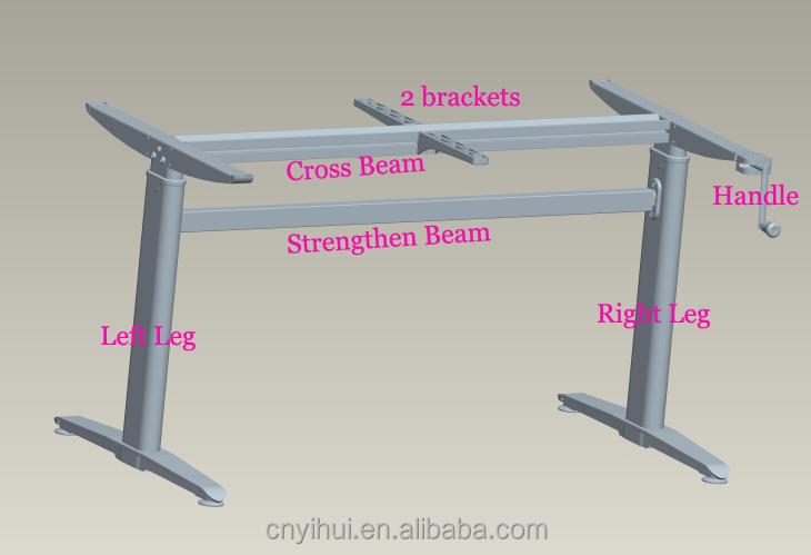 Office table leg telescopic table legs restaurant table - Telescopic table legs ...
