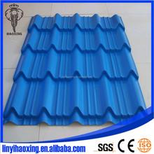 Waviness solar Coated Roof Tile/Aluminum Zinc Roofing Shingle/Colorful Coated Steel Roof