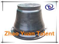 TLT super cone rubber fender for port construction