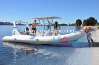 Liya 6.6m inflatable fiberglass sightseeing boat tourist boat for sale