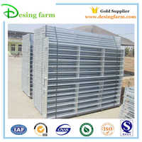 Hot dip galvanized portable metal livestock sheep fence panels