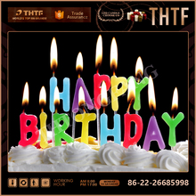 hot sale Birthday cake candle letters