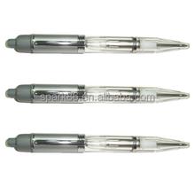 metal plastic ballpoint pen metal led pen light up ball pen