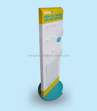 Mobile Card Retail Plastic Display Stand, PP Hangsell