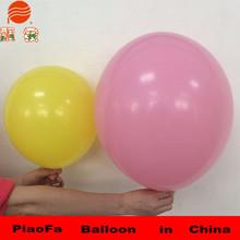 100% nature latex flat round balloon,giant flat balloon China
