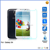 For Samsung Galaxy S4 SIV I9500 0.3MM 2.5D Transparent Tempered Glass Screen Protector privacy screen protector