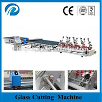 High speed CNC glass cutting saw machine