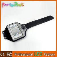 Wholesale led flashing sport running phone case for iphone