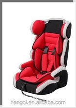 Hot sale low price baby car seat suitable for 9months-12 years old children, baby car seat booster cushion,car cushion with neck