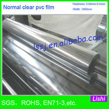 2922 Soft Pvc Film For Outdoor Tent Clear Transparent
