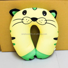 2015 china factory supplier wholesale Selling fashion comfortable u shape100% cotton and linen Animal Shaped Cushion