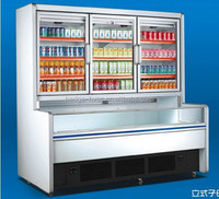 Vertical Primary and Secondary Case Series, Supermark Refrigeration Equipment (ZHG) (ZHG-20/20F)
