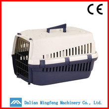 Oem cheap plastic dog transport cage