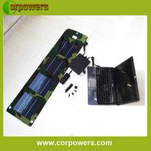 15w portable laptop outdoor solar charger