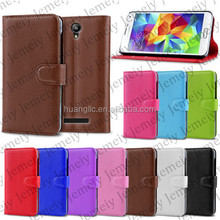 For Samsung GALAXY s5 i9600 Wallet PU Leather Case Stand Cover Bags With Cardslots