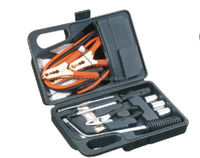 NEW AUTO EMERGENCY KIT SET WITH CASE CAR SAFETY KIT