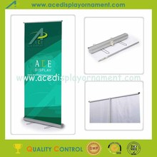 roll up banner stand hardware with telescopic pole