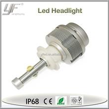 portable car auto 40W led headlight assembly , custom h3 headlight led in stock