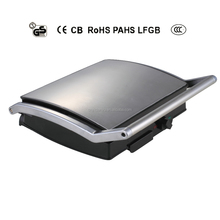 4-slice Contact grill with casting aluminum and bakelite housing