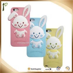 MP 021 Popwide 2014 ODM/OEM cheap cute rabbit multicolor cell phone case
