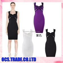 Best Selling knitting sexy ladies party dresses