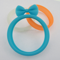 Cheapest promotion multi-function rabbit ear silicone bracelet, mobile phone case for Iphone6, SamsungS4
