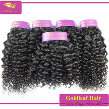 Factory sale short hair brazilian curly hair weave top brazilian hair for factory price