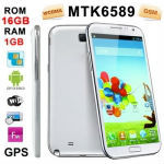 Android 4.2.1 Version, CPU Chip: MTK6589 1.4GHZ Quad Core, ROM: 16GB , RAM: 1GB , 6.0 inch HD IPS Capacitive Touch Screen 3G Sma