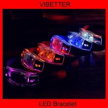 Luminous bracelet, silicone bracelet, negative ion energy Bracelet