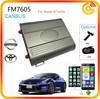 SMS& voice feedback to your telephone can-bus car alarm with GPS tracking system FM7605
