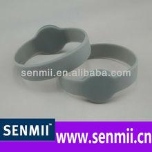Wholesale high quality bulk cheap customized silicone electronic wristband