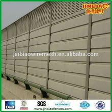 venta caliente de alta calidad de acrílico de la carretera barrera del sonido