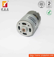 12v 50w dc electric motor with gearbox speed test by tachometers