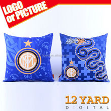 Sport pillow case customized free sample new design pattern sublimation printed cushion pillow