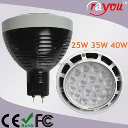Internal driver dimmable led par30, dimmable 40w par30 light, g12 35w par30 for CDM 70W replace