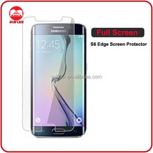 Unique Ultra HD Clear Soft TPU Complete Front Coverage Full Screen Protector Film for Samsung Galaxy S6 Edge